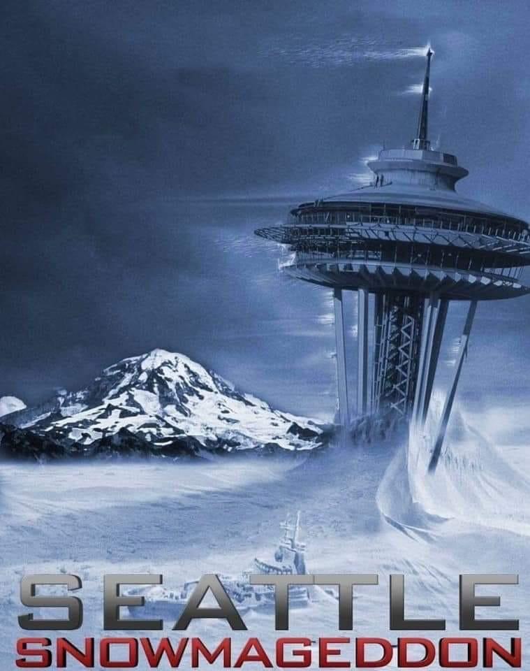 Seattle Snowmageddon 2019